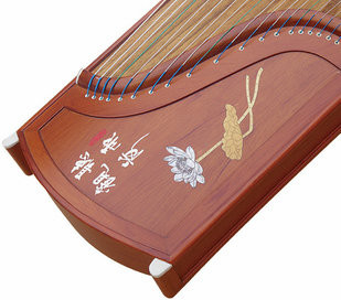 Buy Professional Level Red Sandalwood Guzheng Instrument Chinese Zither Harp