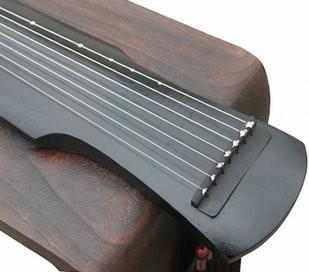 Kaufen Acheter Achat Kopen Buy Concert Grade Aged Fir Wood Guqin Instrument Chinese 7 String Zither Fu Xi Broken Lines Style