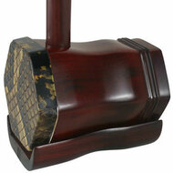 Buy Premium Quality Phoenix Carved African  Aged Purple Sandalwood Erhu Chinese Violin With Accessories