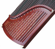 Buy Concert Grade Sandalwood Guzheng Instrument Chinese Zither Harp