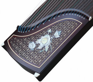 Buy Professional Carved Purple Sandalwood Guzheng Instrument Chinese Koto