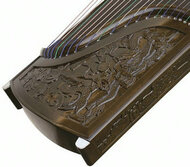 Kaufen Acheter Achat Kopen Buy Professional Dragon Carved Nanmu Guzheng Instrument Chinese Zither Guzheng Zheng