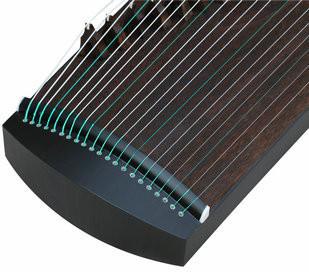 Kaufen Acheter Achat Kopen Buy Exquisite Travel Size Black Sandalwood Guzheng Instrument Chinese Zither