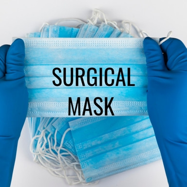 3-Ply Medical Grade Surgical Mask/40pc FDA CE