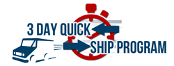 3 Day Quick Ship Program