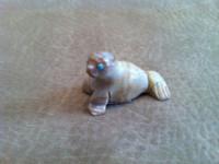 Zuni Seal Fetish Kent Banteah SOLD