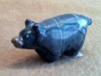 Zuni Pig Fetish Delvin Leekya ZPFDL74 SOLD
