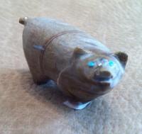 Zuni Pig Fetish Delvin Leekya ZPFDL369 SOLD