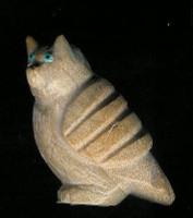 Zuni Owl Fetish Delvin Leekya
