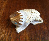 Zuni Horned Toad Fetish Max Laate SOLD