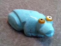 Zuni Frog Fetish Bernard Homer ZFFBH27 SOLD