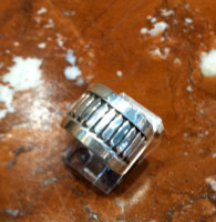 RINGS NAVAJO SILVER BAND Herbert Begaye