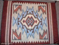 Navajo Indian Rug Burntwater Cora Yazzie SOLD
