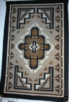Navajo Indian Rug Two Grey Hills Sharon Hunt