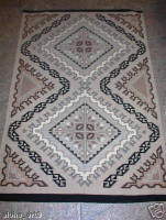 Navajo Indian Rug Burntwater Deswood Bitsui