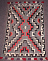 Navajo Indian Rug Germantown Weaving 1900's