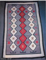 Navajo Indian Rug Centipede 1930's