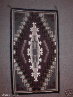 Navajo Indian Rug Two Grey Hills Rita Bedah