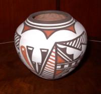 Pottery Zuni Pueblo Carlos Laate