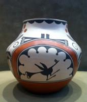 Pottery Zia Jemez Irene Herrera SOLD