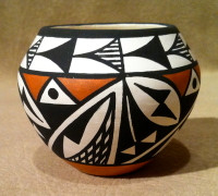 Pottery Acoma Debbie Brown SOLD PZDB4