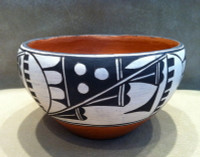 Pottery Zia Acoma Juanita Shije 1940's SOLD