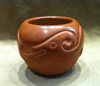 Pottery San Juan San Ildefonso Rose Gonzales Sold