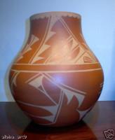 Pottery San Ildefonso Cynthia Starflower PSI3