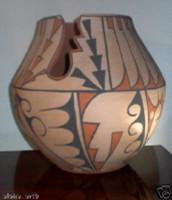 Pottery San Ildefonso Carmelita Dunlap PSI8