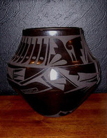 Pottery San Ildefonso Carmelita Dunlap PSI214