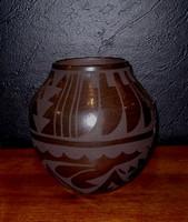 Pottery San Ildefonso Carmelita Dunlap PSI210
