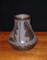 Pottery San Ildefonso Cynthia Starflower PSI20335
