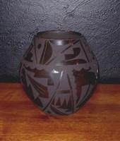 Pottery San Ildefonso Cynthia Starflower PSI197