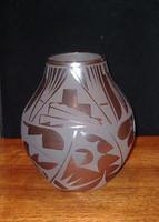 Pottery San Ildefonso Cynthia Starflower PSI194