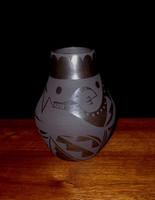 Pottery San Ildefonso Cynthia Starflower PSI184