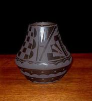 Pottery San Ildefonso Cynthia Starflower PSI181
