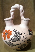 Pottery Acoma Wedding Vase Michelle Shields