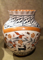 Pottery Acoma Myron R. Garcia PAMRG7