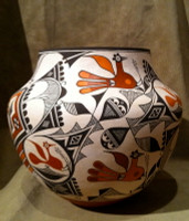 Pottery Acoma Joseph Cerno Jr SOLD