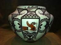 Pottery Acoma Franklin Peters Huulaka