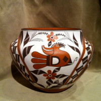 Pottery Acoma Franklin Peters Huulaka SOLD PAFPH1