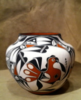 Pottery Acoma Franklin Peters Huulaka Sold