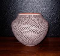 Pottery Acoma Fine Line Design Frederica Antonio_2 SOLD