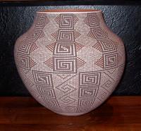 Pottery Acoma Fine Line Design Frederica Antonio_1 SOLD