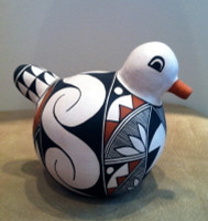 Pottery Acoma Duck Michelle Shields PADMS5 SOLD