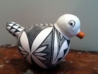 Pottery Acoma Duck Michelle Shields PADMS4