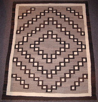 Navajo Indian Rug Variant Crystal