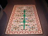 Navajo Indian Rug Tree Of Life Cleo Davis SOLD