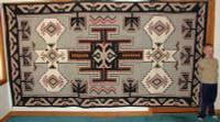 Navajo Indian Rug Teec Nos Pos NIRTNP2