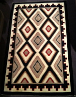Navajo Indian Rug Teec Nos Pos SOLD